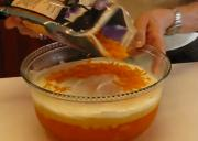 Pineapple Orange Layered Gelatin or Sawdust Salad