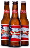 Budweiser is getting patriotic.