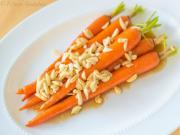 Maple Brown Butter Glazed Carrots - Thanksgiving Side Dish