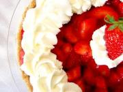 Microwave Cooked Strawberry Pie