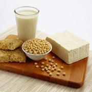 Soy and soy products made from organic soybeans are only healthy
