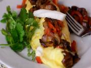 How To Make an Omelet : Vegetable Omelet