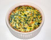 Spinach Custard