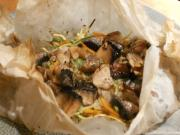 Wild Mushrooms in Papillote