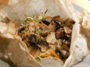 Wild Mushrooms in Papillote