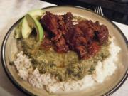 top 10 caribbean dishes - Crab Callaloo