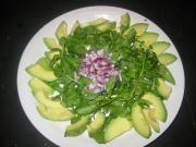 Healthy avocado salad for your family