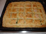 Making a Spinach Pie