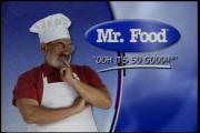 Mr. Food is no more.