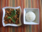 Thai Phat Phrik is a spicy stir fried dish
