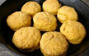 Honeyed Sweet Potato Biscuits