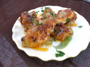 Lemon, Garlic and Chile Wings