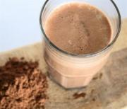 low fat Chocolate Shake