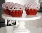 Anne Thornton's Red Velvet Brain Cupcakes