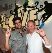 "Jesse and his partner live it up at the ""LOVE"""