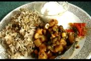 Curried Cauliflower and Khichadi Dinner