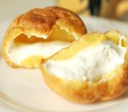 Southern Cream Puffs With Chocolate And Vanilla