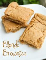 Blonde Brownies are a good way to celebrate January 22, 2013.