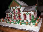 Ginger bread house decoration