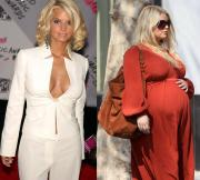 jessica simpson before and after pregnancy