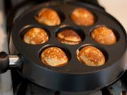 Ebelskivers-How to cook Danish pancakes