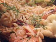 Seafood Orzo Salad