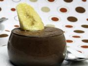 Chocolate Banana Mousse by Tarla Dalal