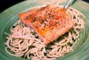 Salmon Limone Pomodoro