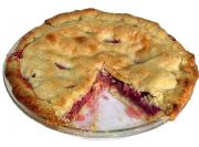 Delicious Rhubarb Pie