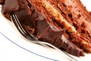 Peanut butter fudge cake is an interesting way to use the fudge