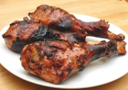 Barbecued Turkey Drumsticks