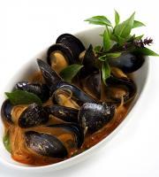 Making Mussels in Lemongrass on Tv