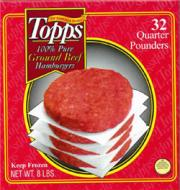 Topps Meat Co. Beef Patties