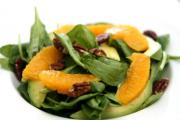Green and Orange Salad