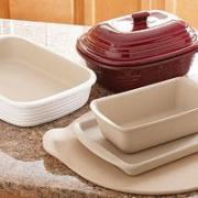 Different types of Pampered Chef Stoneware