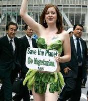 go vegetarian to save the world and the planet