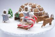 Perfect cake decoration - learn how to make icing sugar igloo
