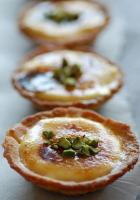 Apricot Cream Tartlets