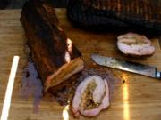 Boudin Stuffed Pork Loins