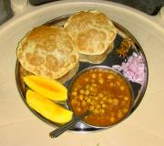 Deep Fried Bhature