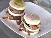 Jalapeno Pork Burger with Crispy Country Fried Bacon