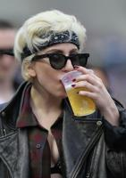 Lady Gaga is on a Drunk Diet