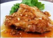 Fried Chicken with Sweet Vinegar Sauce