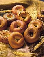 "Opinions about the origin of the term ""bagel"" as well as the food in itself hugely differ."
