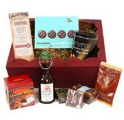 Chocolate Christmas gift hamper