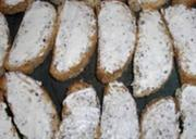 Brandied Blue Cheese Crostini