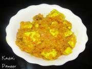Kadai Paneer-My Favorite Karva Chauth Dish