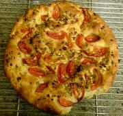 Vegetable Foccacia