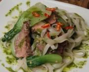 Thai Inspired Beef Salad with Rice Noodle