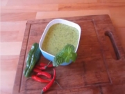 How to Make Chili-Chimichurri-Sauce - Quick